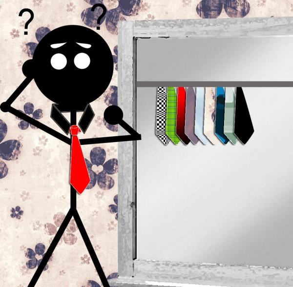 Krawatten-kombinieren
