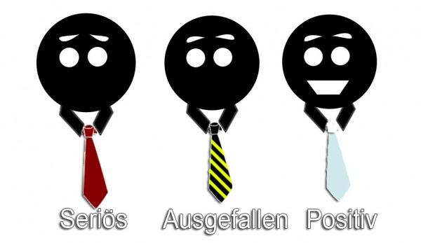 Krawatten-persönlichkeit