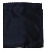 Einstecktuch - 100% Seide - Marineblau