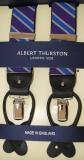 Hosenträger - Albert Thurston - Lila/Hellgelb/Hellblau - 2 in 1