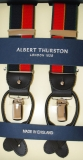 Hosenträger - Albert Thurston - Grün/Marine/Gold/Rot - 2 in 1