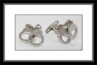 Manschettenknöpfe - Handschellen