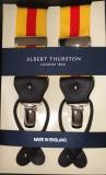 Hosenträger - Albert Thurston - Gelb/Rot 2 in 1