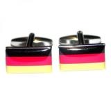Manschettenknöpfe - Deutschlandflagge