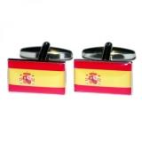 Manschettenknöpfe - Spanienflagge