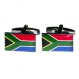 Manschettenknöpfe - Südafrikaflagge