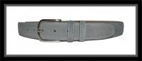 Wildledergürtel - GRIGIO