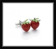 Manschettenknöpfe - Erdbeere