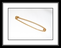 Kragennadel groß (Collar Pin/Stock Pin)