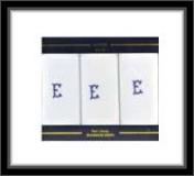 Herrentaschentücher - 100% Baumwolle - E