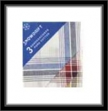 Herrentaschentücher - 100% Baumwolle - gemustert