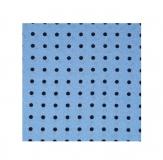 Krawattenschal - 100% Seide - Hellblau mit blauen Punkten
