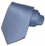 Krawatte - Hellblau mit rosanen Dots