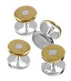 Hemdknöpfe - 925er Sterling Silber - Bullet (Geschoss)