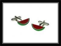 Manschettenknöpfe - Wassermelone
