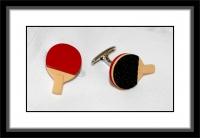 Manschettenknöpfe - Tischtennis