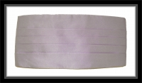 Kummerbund - Lila - 100% Seide