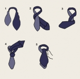 Krawattenschal - 100% Seide - Grün/rote Schrotpatronen