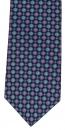 Krawatte - Navy/Purple/Jade