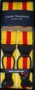 Hosenträger - Albert Thurston - Gelb/Rot