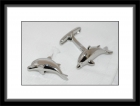 Manschettenknöpfe - Delfin