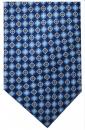Krawatte - Muster auf marineblauem Grund