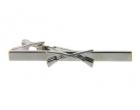 Krawattenklammer - gekreuzte Schrotflinten