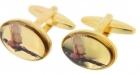 Manschettenknöpfe - fliegender Fasan