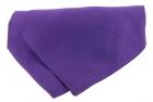 Krawattenschal - 100% Seide - Lila