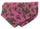 Krawattenschal - 100% Seide - Paisleymuster auf fuchsia Grund
