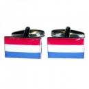 Manschettenknöpfe - Hollandflagge