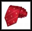 Krawatte - Rot/Polospieler
