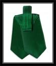 Krawattenschal - 100% Seide - Grün