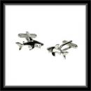 Manschettenknöpfe - Haifisch