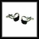 Manschettenknöpfe - Kopfhörer