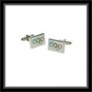 Manschettenknöpfe - Olympische Ringe