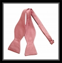 Smokingschleife - Pink - 100% Seide - Selbstbinder