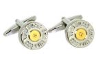 Manschettenknöpfe - Geschoss/Bullet (338 WIN MAG)